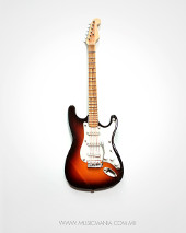 Guitarra mini Fender cafe-negro