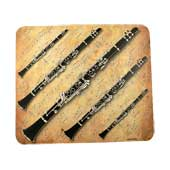 Mouse pad de clarinete